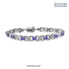 I found this amazing 3.10ctw Genuine Tanzanite & White Diamond Accent Bracelet in Sterling Silver at nomorerack.com for 90% off. Sign up now and receive 10 dollars off your first purchase