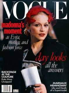 Madonna, VOGUE 1996 (and a retrospective of all her VOGUE covers)
