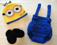 Hey, I found this really awesome Etsy listing at http://www.etsy.com/listing/160776885/adorable-baby-minion-0-3-or-3-6-month