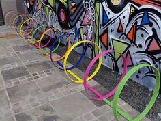Projeto de Bicicletário para prédio comercial em Porto Alegre.
