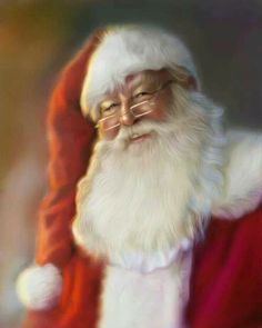 Beautiful picture of Santa! By: SoulOfDavid                                                                                                                                                                                 More