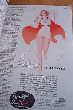 1934 Swimsuit, USA, Cosmopolitan Magazine