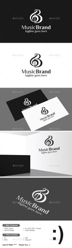 Note & Music Brand Logo — Vector EPS #app #video • Available here → https://graphicriver.net/item/note-music-brand-logo/9236228?ref=pxcr