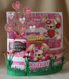 Valentine cards, Cards and Valentines on Pinterest