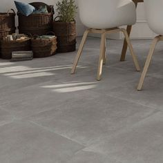 Moliere Grey Floor Tiles x cm. For those looking for a metropolitan feel in their kitchen, this large grey floor tile is the perfect foundation. Large Floor Tiles, Grey Floor Tiles, Bathroom Floor Tiles, Grey Flooring, Porcelain Kitchen Floor Tiles, Concrete Tiles Floor, Flooring Tiles, Porcelain Floor, Bathroom Plants