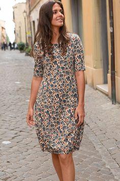 Jerseykleid Blüten : Maas Natur - Ökologische Mode, fair produziert für die ganze Familie