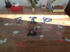 Verjaardagstafel in Amersfoort... Gezield door Joyce. www.tafelziel.nl