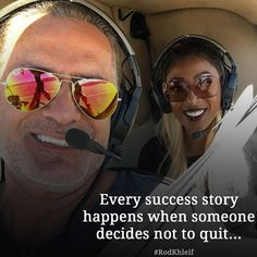 Every success story happens when someone decides not to quit...