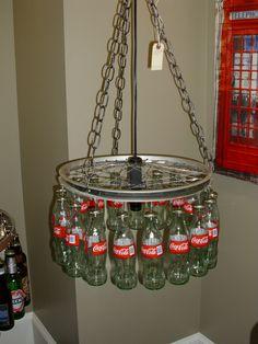 Coca Cola Light Fixture