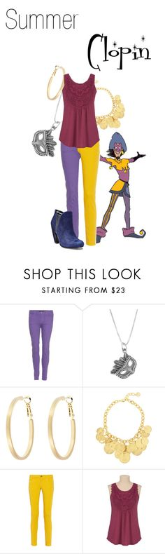 """""""Clopin"""" by jivy44 ❤ liked on Polyvore featuring J Brand, Masquerade, Snö Of Sweden, Ben-Amun, M Missoni and Steve Madden"""