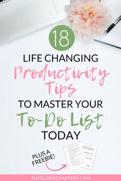 18 Life-Changing Productivity Tips to Master Your To-Dos - The Olden Chapters - The top productivity tips and time management secrets that will change your life! Organize your lif - Beauty Routine Schedule, Life Hacks, Productivity Quotes, Work Productivity, Increase Productivity, Productive Things To Do, Time Management Skills, Project Management, How To Stop Procrastinating