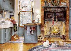 """The Kitchen Elf"" by Trisha Romance"