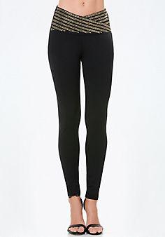 Embellished+Waist+Leggings Style # 274585 #bebe #pinyourwishlist