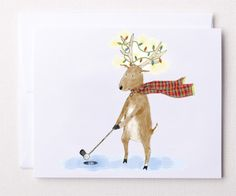 Find The Best Christmas Cards At Lorisgolfshoppe Holiday Mantel - Golf christmas cards