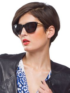 Don't need another pair of sunglasses, but boy do I want these Rebecca Minkoff pair