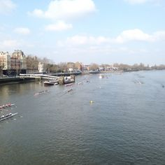 River Thames, England by Caroline Diani