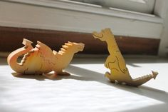 Marketing Office Dragons - Inky and Guv