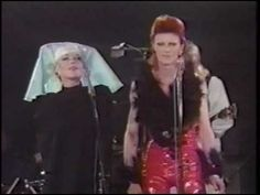 David Bowie Sings 'I Got You Babe' with Marianne Faithfull in His Last Performance As Ziggy Stardust.....we lost a great VOICE
