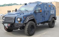 The GURKHA MPV is a vehicle made specifically for Law Enforcement and Police. It is built on a heavy duty commercial FORD truck chassis. Armoring protects against blasts and IED fragmentation. Police Truck, Police Gear, Army Vehicles, Armored Vehicles, Radios, Ford F550, 4x4, Executive Protection, Jeep Suv