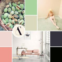 Let there be #moodboardmonday and pistachio flavors  by sm_artisan