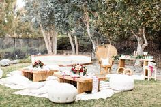 A Bohemian Backyard Bash by Sterling Social | Rue