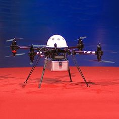 The Reality of Amazon's Drones by David Talbot, technologyreview #Amazon_Drones