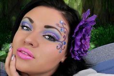 "Fairy makeup ... fairy costume ideas (possibility for Mira's costume - ""Dark Fairy"")"
