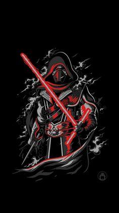 Jedi Wallpaper, Star Wars Wallpaper, Galaxy Wallpaper, Star Wars Poster, Star Wars Art, Star Wars Cartoon, Star Wars Painting, Knights Of Ren, Star Wars Drawings