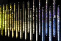 Light and Space photographic installations by Clint Baclawski » Retail Design Blog