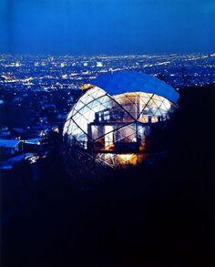JULIUS SHULMAN Dome House, Bernard Judge, architect, Los Angeles, California, 1962