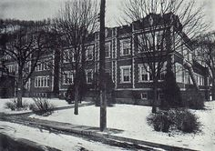Photos of Yesterday's Schools. Valley High School. Pine Grove,  WV