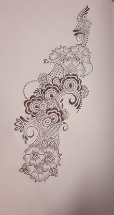 Henna Tattoo Designs Arm, Mehndi Designs Book, Unique Mehndi Designs, Dulhan Mehndi Designs, Mehandi Designs, Mehendi, Mehndi Designs For Beginners, Mehndi Designs For Fingers, Henna Drawings