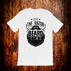 Are you a beard guy ? Because if you are, this shirt is a perfect fit for you or a friend that needs a gift. Beard Gifts, Bearded Men, Fabric Weights, Perfect Fit, T Shirts For Women, Trending Outfits, Mens Tops, Etsy, Fashion