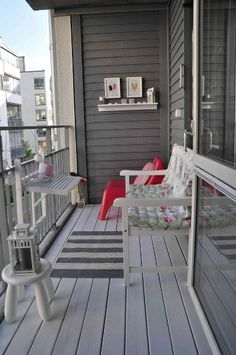 This kinda material for balconies and gardens pictures on balcony