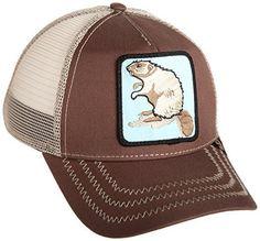 b55dcc9f Goorin Bros. Mens Animal Farm Baseball Dad Hat Trucker Brown One Size for  sale online   eBay