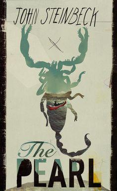 John Steinbeck, The Pearl. Designed by Kathryn Macnaughton