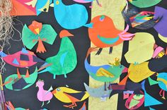 Feathered Flyers/ The Eric Carle Museum Studio Blog