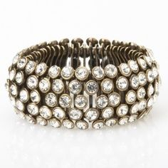 Potluck Paris jewelry - Splin Strass Bronze Bracelet