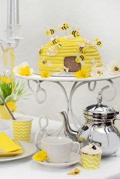 Living and Loving Baby Showers, Shower Ideas, Tea Pots, Shots, Create, Tableware, Dinnerware, Baby Sprinkle, Dishes