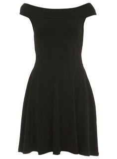 Miss Selfridge - UK - Bardot Skater Dress - £22.00