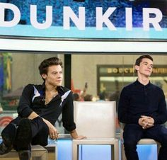 Harry and Fionn today