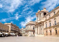 SICILY...Ortigia, Siracusa, Italy (If you look at a map, you'll see that Ortigia is an island connected to the rest of Siracusa by a bridge. It is the ancient part of the city...slj)