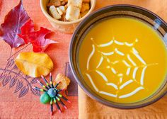Looking for something new to do this Spooky Season? Try our Spooky Pumpkin Soup 🎃
