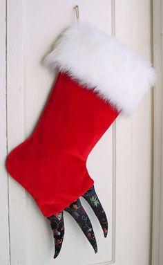 monster Christmas stocking