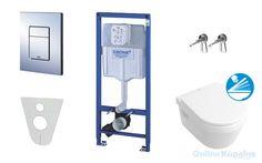 Grohe Rapid SL - Rapid SL pre závesné WC, kompletná sada 38528SET-KB