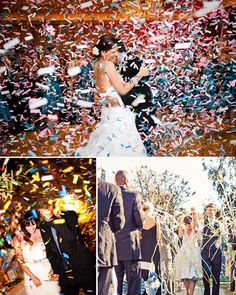 Unique Wedding Confetti Alternatives and Ideas | Yes Baby Daily
