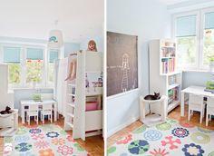 Pastelowy Mokotów - zdjęcie od Qbik Design - Pokój dziecka - Styl Tradycyjny - Qbik Design
