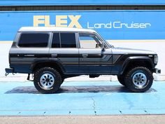 Toyota 4x4, Toyota Trucks, 4x4 Trucks, Land Cruiser Fj80, Toyota Land Cruiser, Cars Land, Old School Cars, Jeep 4x4, Four Wheel Drive