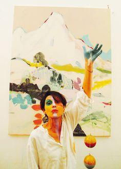 Anne-Sophie Tschiegg: Art Bodensee, Dornbirn 2015 Art Inspo, Kunst Inspo, Painting Inspiration, Abstract Painting Techniques, Art Techniques, Painting & Drawing, Abstract Art, Art And Illustration, Cool Paintings