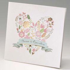 Einladungskarte - Light Garden - - sweetwedding - Hochzeitskarten, Druck, Hochzeitsdekoration, Hochzeitsalben, Gastgeschenke, Einladungskarten, Hochzeit, Dekoration, Gästebücher, Berlin, Stammbücher, Tischdekoration, Karten, Papiere